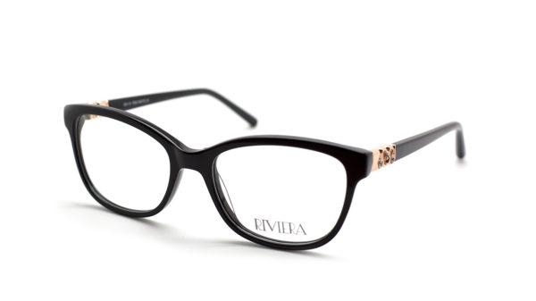 Riviera 01 black glasses